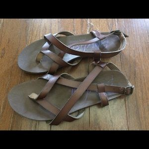 Blowfish Shoes - Blowfish brown strappy sandals